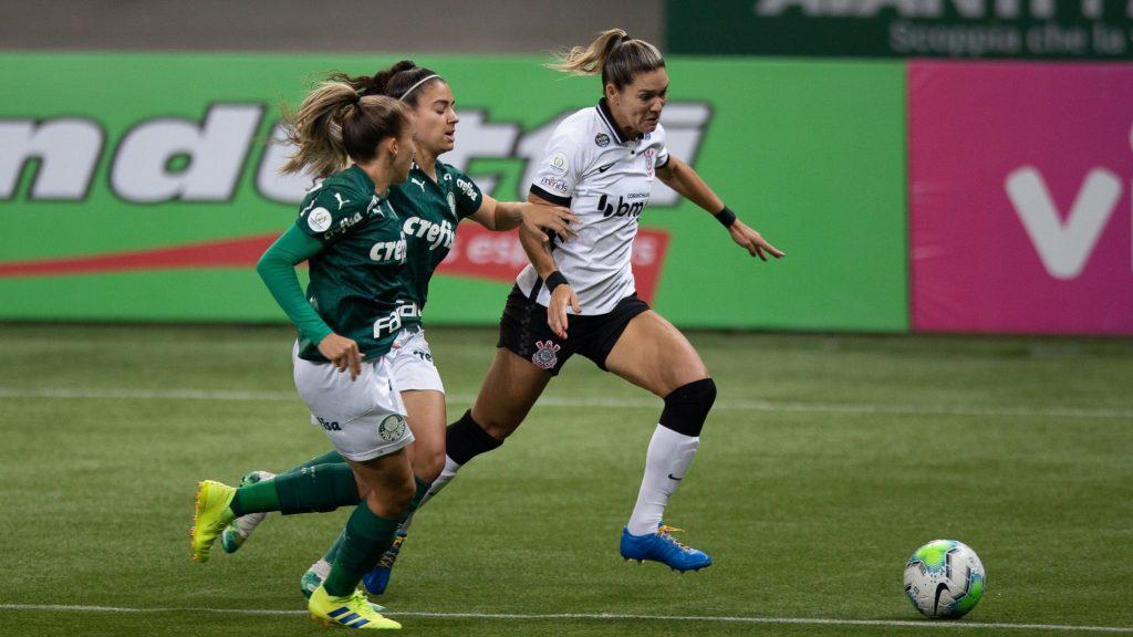 Corinthians x Palmeiras Brasileiro Feminino